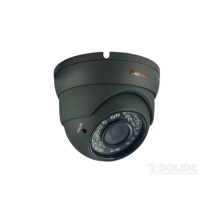 BC1209IRODVA/AHP BOLIDE 2.8-12mm Varifocal Eyeball, IP66, IR up to 95ft, 12VDC, AHD/TVI/CVIAnalog,720P Pentabrid, OSD