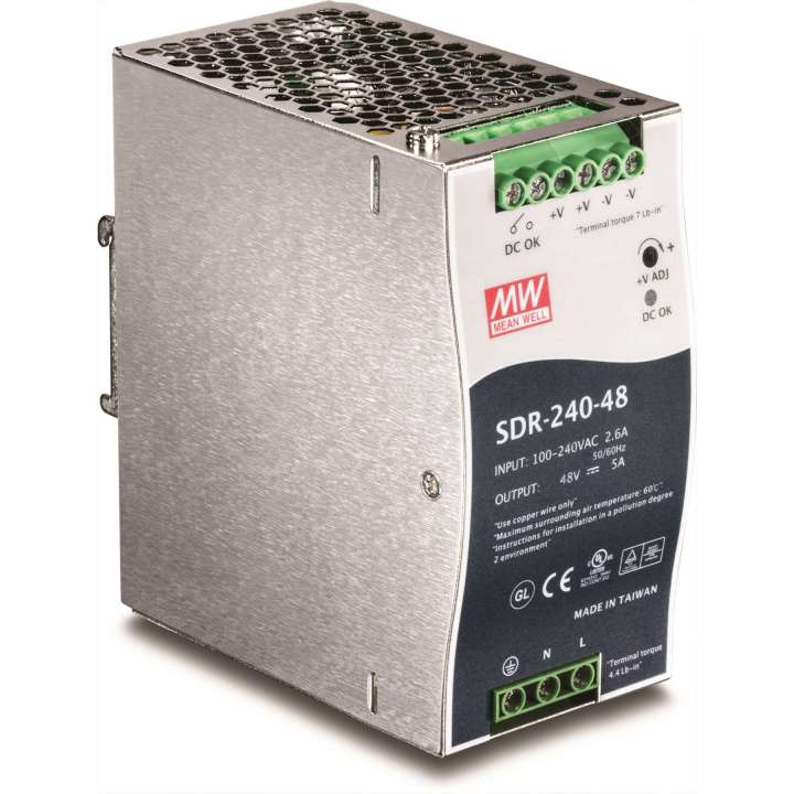 TI-S24048 TRENDNET DIN Rail 48V 240W Power Supply for TI-PG80 ************************* SPECIAL ORDER ITEM NO RETURNS OR SUBJECT TO RESTOCK FEE *************************