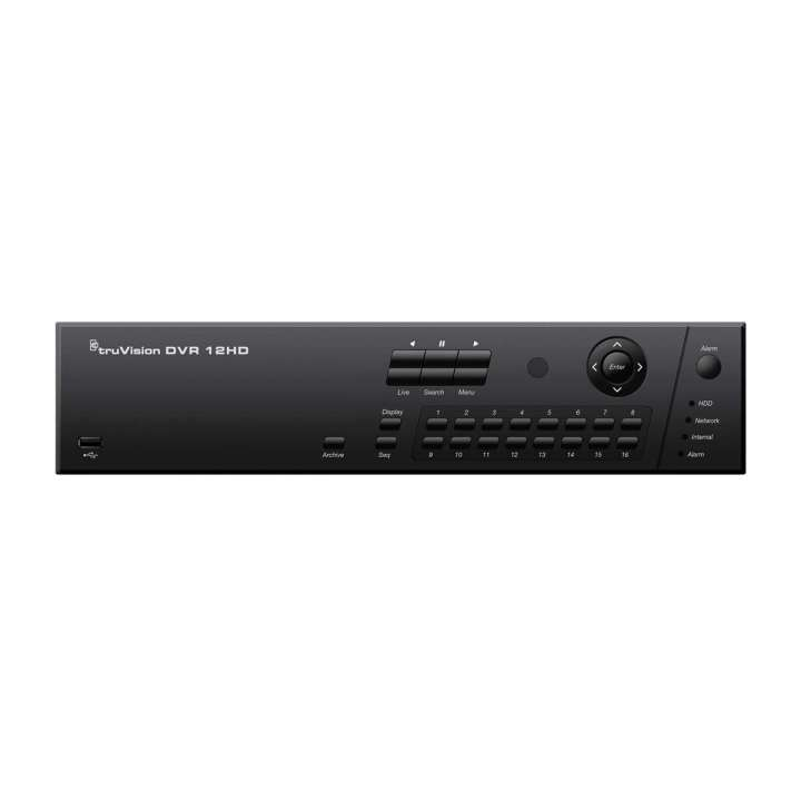 TVR-1216HD-4T UTC TruVision DVR 12HD, 1080p HD, H.264, 16-Channels, 4TB Storage ************************* SPECIAL ORDER ITEM NO RETURNS OR SUBJECT TO RESTOCK FEE *************************