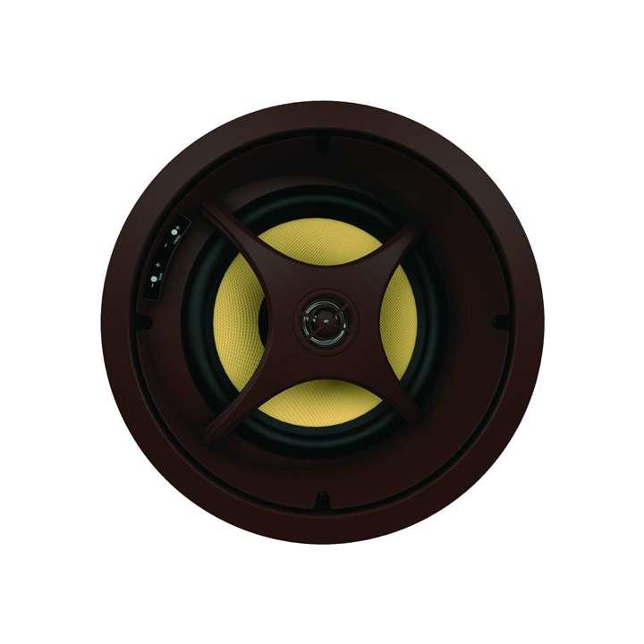 "C875s PROFICIENT C875s, Ceiling LCR speaker with 8""; Kevlar woofer and 1""; pivoting aluminum tweeter."