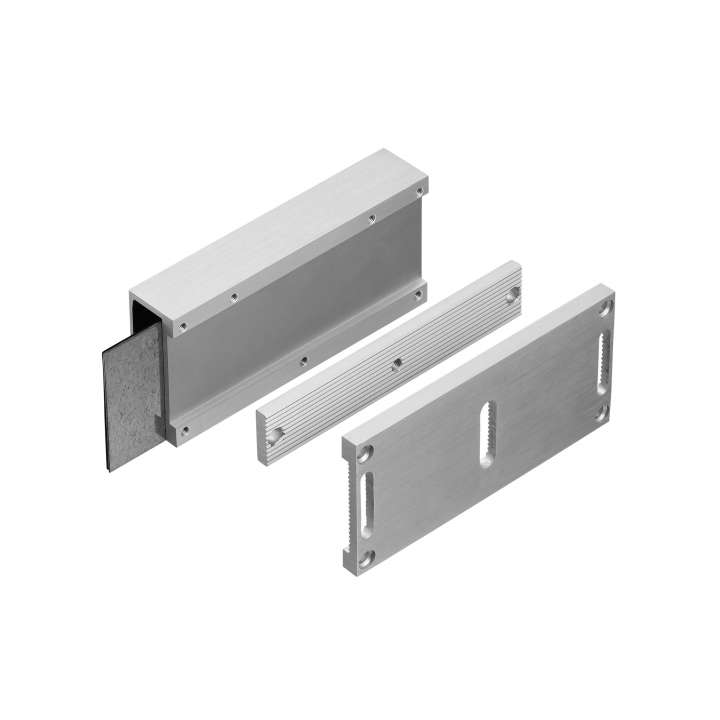 LA-U03 ROSSLARE U-Bracket for glass door for use with LK-M03, 300 lbs electromagnetic locks ************************* SPECIAL ORDER ITEM NO RETURNS OR SUBJECT TO RESTOCK FEE *************************