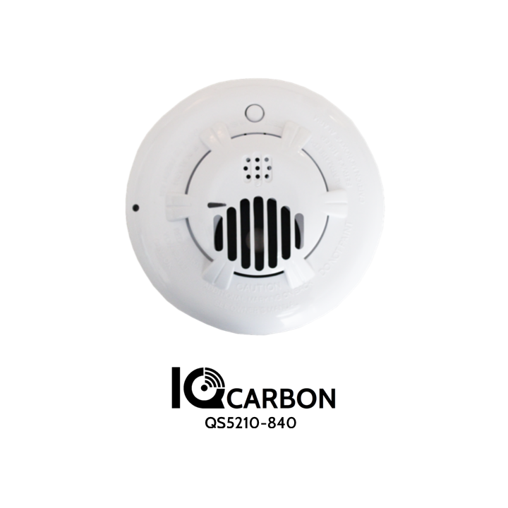 QS5210-840 QOLSYS IQ Carbon - Detects carbon monoxide gas