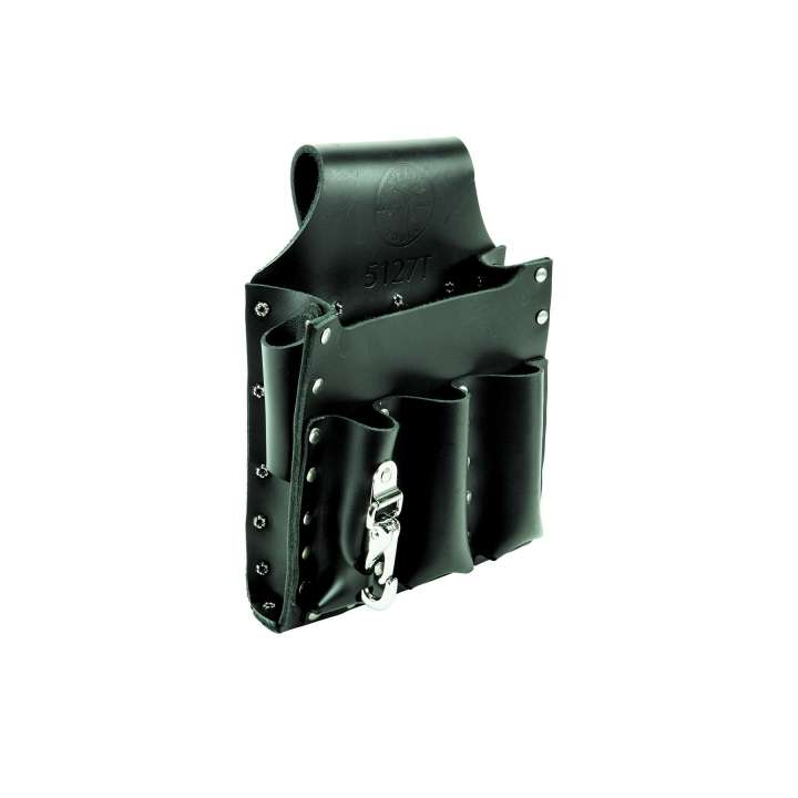 5127T KLEIN 6 POCKET TOOL POUCH TUNNEL LOOO ************************* SPECIAL ORDER ITEM NO RETURNS OR SUBJECT TO RESTOCK FEE *************************