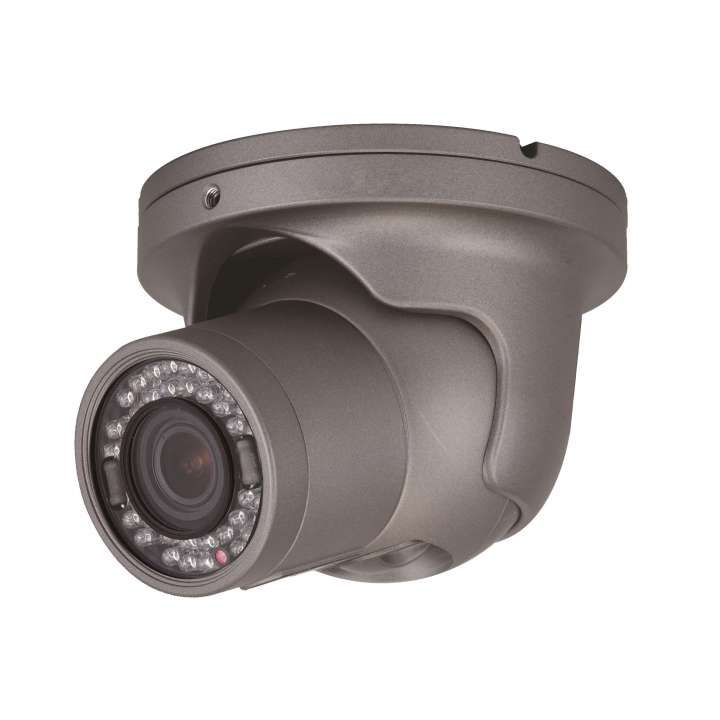 HT6041T SPECO 2MP 1080p Vandal Dome/Turret TVI, IR, 3.6mm lens, grey housing