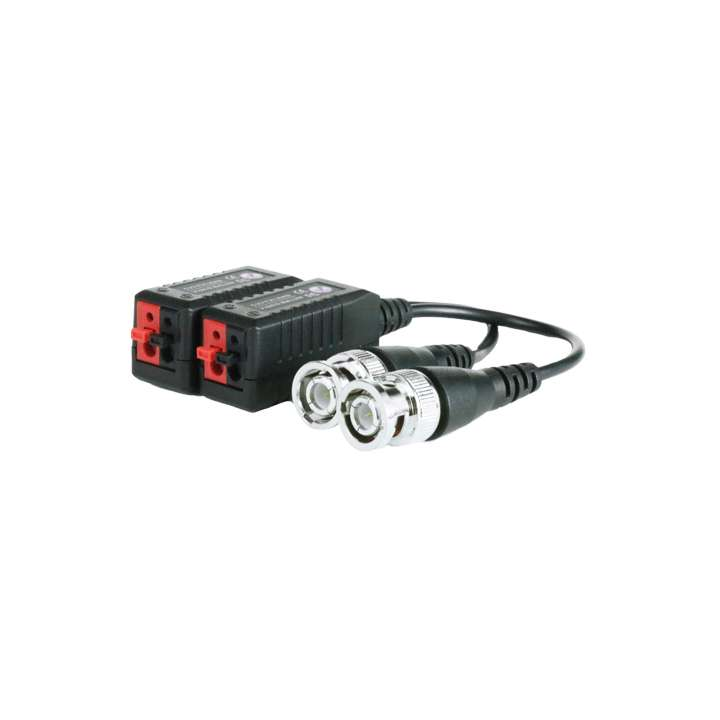 IA-HDBAL1 INVID HD-TVI Balun for 1080p/720p. Enable megapixel video more than 500 feet over a single unshielded twisted pair of wires from a Cat5e cable.