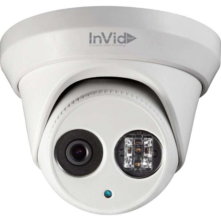 ULT-C2TXIR36 INVID 2 Megapixel/1080p TVI Outdoor Turret, 3.6 fixed, WDR, 100' EXIR Range, 12VDC