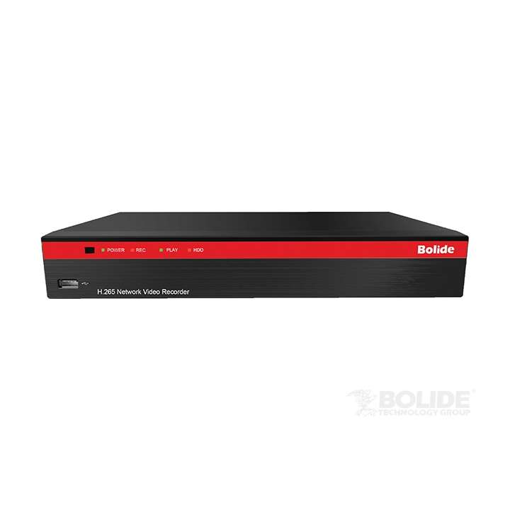 BN-NVR/4NX BOLIDE H.265 Compression NVR, Supports up to 4K Resolution, Built-in POE, with Quick Connect No HDD ************************* SPECIAL ORDER ITEM NO RETURNS OR SUBJECT TO RESTOCK FEE *************************