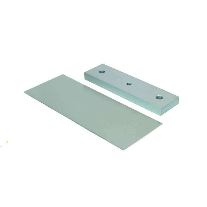 GDB SECURITRON DOOR BRACKET FOR MOUNTING STRIKE PLATE TO GLASS DOOR ************************* SPECIAL ORDER ITEM NO RETURNS OR SUBJECT TO RESTOCK FEE *************************