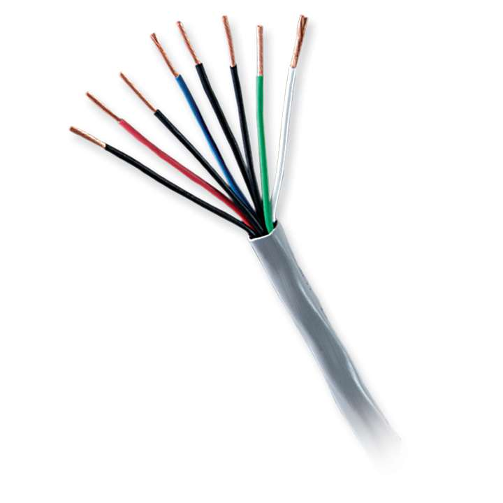 31151112 GENESIS CABLE 18/4 STRANDED UNSHIELDED PLENUM CMP/CL2P/FT6 1000' PULL BOX NATURAL