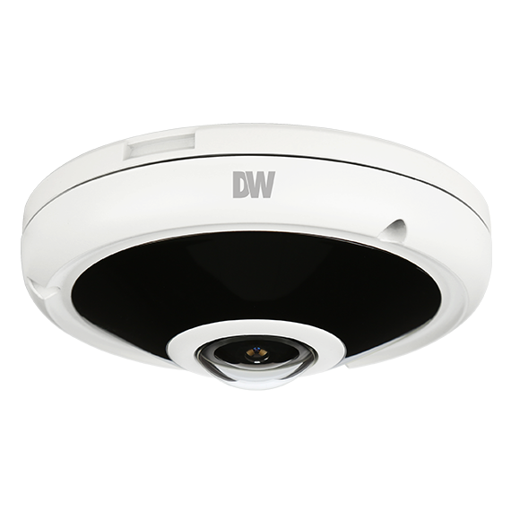 DWC-PVF5M1TIR DIGITAL WATCHDOG 5 Megapixel 360 / 180 Fisheye IP Vandal Camera, PoE and DC12V, IP66 Certified (Weather Resistant) ************************* SPECIAL ORDER ITEM NO RETURNS OR SUBJECT TO RESTOCK FEE *************************