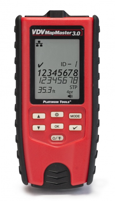 T130 PLATINUM TOOLS VDV MAPMASTER 3.0 CABLE TESTER ************************* SPECIAL ORDER ITEM NO RETURNS OR SUBJECT TO RESTOCK FEE *************************
