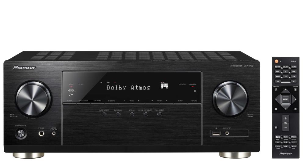VSX932 ONKYO 7.2-channel receiver with 7x130 watts ************************* SPECIAL ORDER ITEM NO RETURNS OR SUBJECT TO RESTOCK FEE *************************