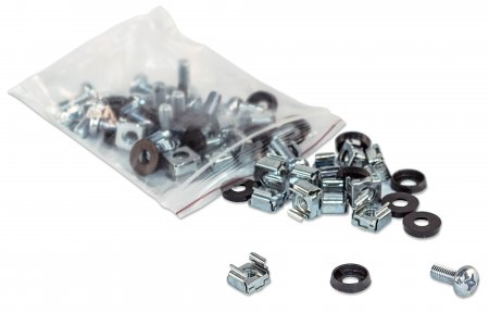 713658 INTELLINET 100 piece Cage Nut Set ************************* SPECIAL ORDER ITEM NO RETURNS OR SUBJECT TO RESTOCK FEE *************************