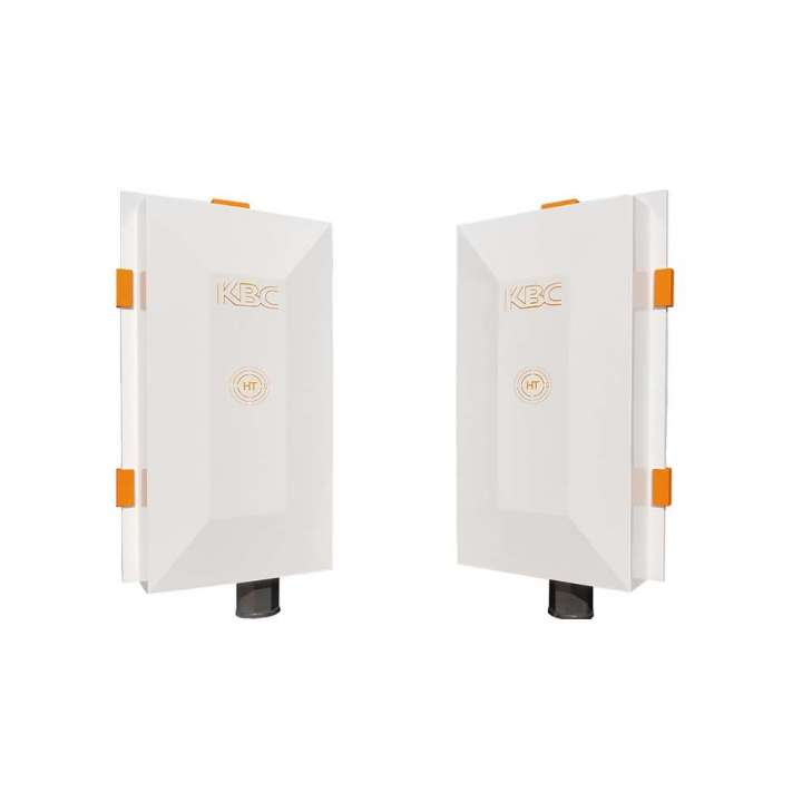 WES3-KT-POE KBC Wireless Ethernet System Kit consisting of two (2) WES3-AX-CF modules with 17dBi antennas and all mounting hardware. ************************* SPECIAL ORDER ITEM NO RETURNS OR SUBJECT TO RESTOCK FEE *************************
