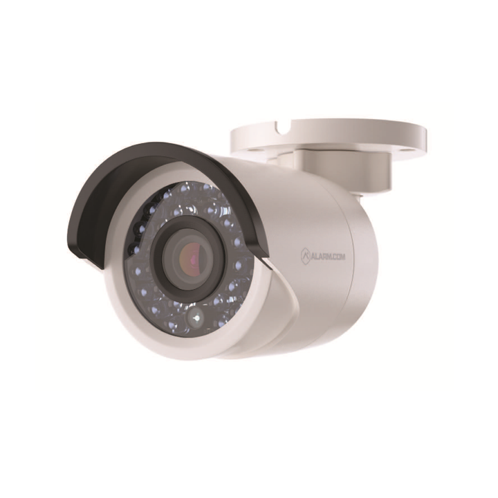 ADC-VC725 ALARM.COM POE MINI BULLET CAMERA WITH 4MM LENS, WITHOUT ADAPTER