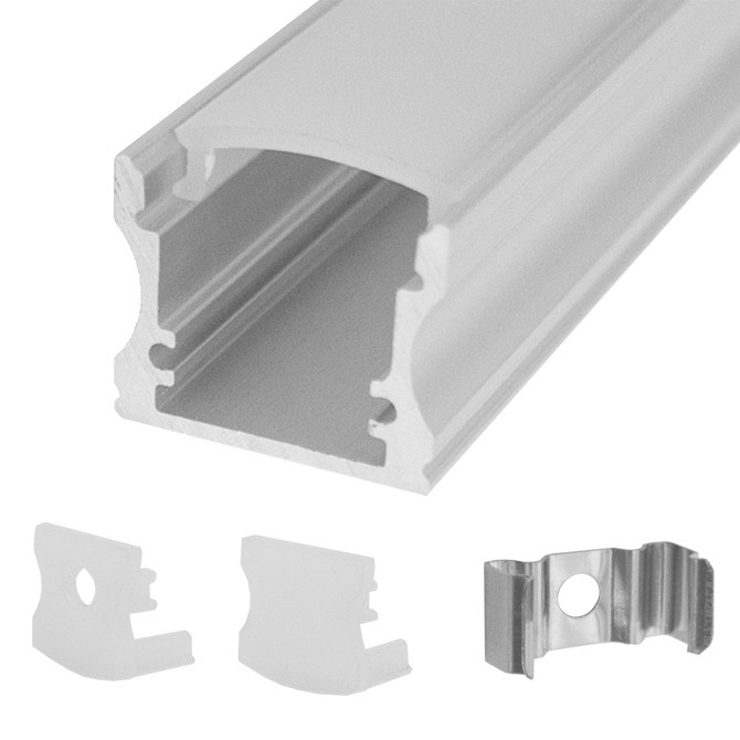 92-310 CALRAD L.E.D Rectangle Aluminum Housing, Surface Mount, 4 Ft. Long ************************* SPECIAL ORDER ITEM NO RETURNS OR SUBJECT TO RESTOCK FEE *************************