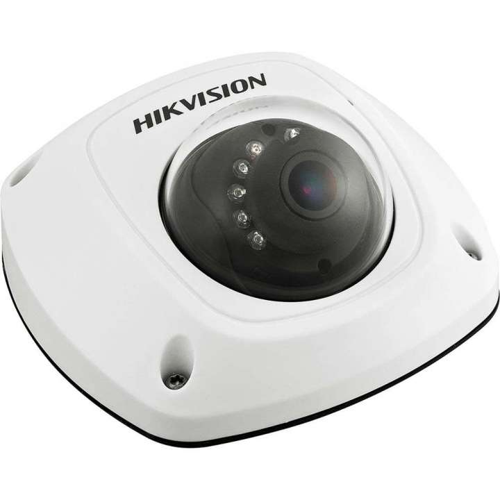 DS-2CD2542FWD-IS6MM HIKVISION Compact Dome, 4MP-20fps/1080p, H264, 6mm, Day/Night, 120dB WDR, IR (30m), 3-Axis, Alarm I/o, Audio Mic/O, uSD, IP66, PoE/12VDC