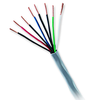 31141112 GENESIS CABLE 18/2 STRANDED UNSHIELDED CMP/CL2P/FT6 1000' PULL BOX NATURAL