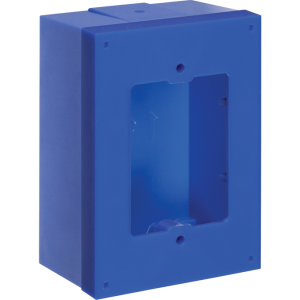STI-KIT-71101A-B STI DEEP BACK BOX FOR STOPPER STATIONS - BLUE ************************* SPECIAL ORDER ITEM NO RETURNS OR SUBJECT TO RESTOCK FEE *************************