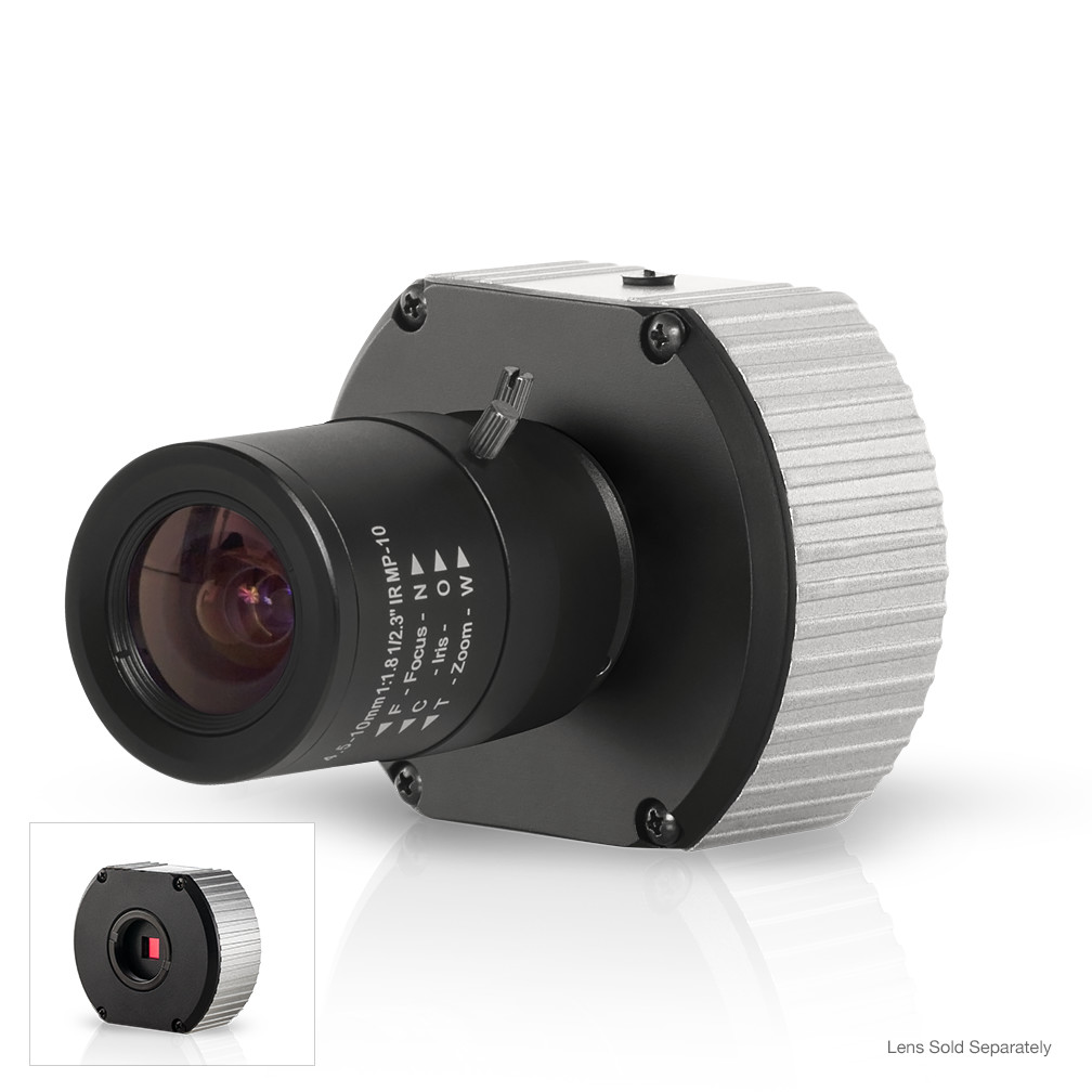AV10115v1 ARECONT 10 Megapixel /1080p, 7 fps/32 fps, Dual Mode H.264/MJPEG Color Camera, 3648 x 2752/1920 x 1080, binning, Compact, 12VDC/24VAC/PoE, SNAPstream ************************* SPECIAL ORDER ITEM NO RETURNS OR SUBJECT TO RESTOCK FEE *************************