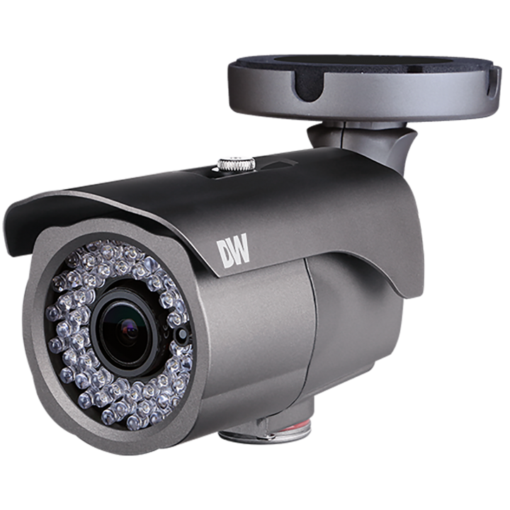 DWC-MB45DIA DIGITAL WATCHDOG MEGApix Bullet, 5 Megapixel 1/1.8 CMOS Sensor (2592x1944 @ 30fps), 3.6-10mm Autofocus Varifocal P-Iris Lens, 120ft Smart IR, D-WDR, 3D-DNR, True D&N, Triple Codecs (H.265, H.264, MJPEG) with Simultaneous Dual Streaming, 2.7X Optical Zoom, PoE + DC12V, OnVIF Compliant,, IP66, 5 Year Warranty. ************************* SPECIAL ORDER ITEM NO RETURNS OR SUBJECT TO RESTOCK FEE *************************