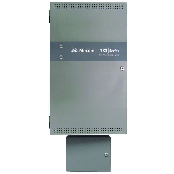 TX3-BBCX-4W MIRCOM EIGHT DOOR CONTROLLER CABINET,120VAC TO 24VDC POWER SUPPLY INCLUDED ORDERUPTO 4 RB-MD-1093 TWO DOOR CONTROL BOARDS PER CABINET ************************* SPECIAL ORDER ITEM NO RETURNS OR SUBJECT TO RESTOCK FEE *************************