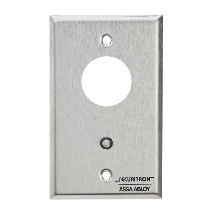 MKA2 SECURITRON MORTISE PLATE DPDT RED AND GREEN LED ************************* SPECIAL ORDER ITEM NO RETURNS OR SUBJECT TO RESTOCK FEE *************************