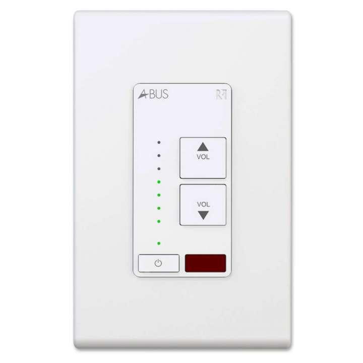 2000-534591 Russound A-K4, White A-K4 Amplified Keypad, White