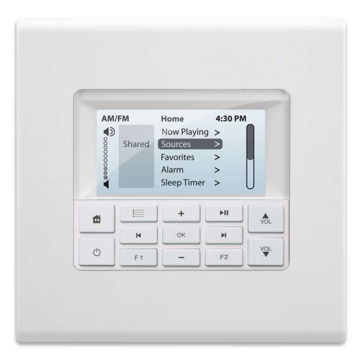 1550-534294 Russound Mdk-C6 2-Gang Keypad (Non Erp Compliant)