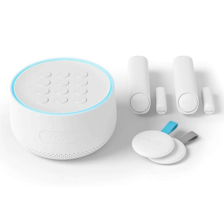 H1500ES NEST Secure Alarm System Starter Kit (1 Nest Guard, 2 Nest Detects & 2 Nest Tags)