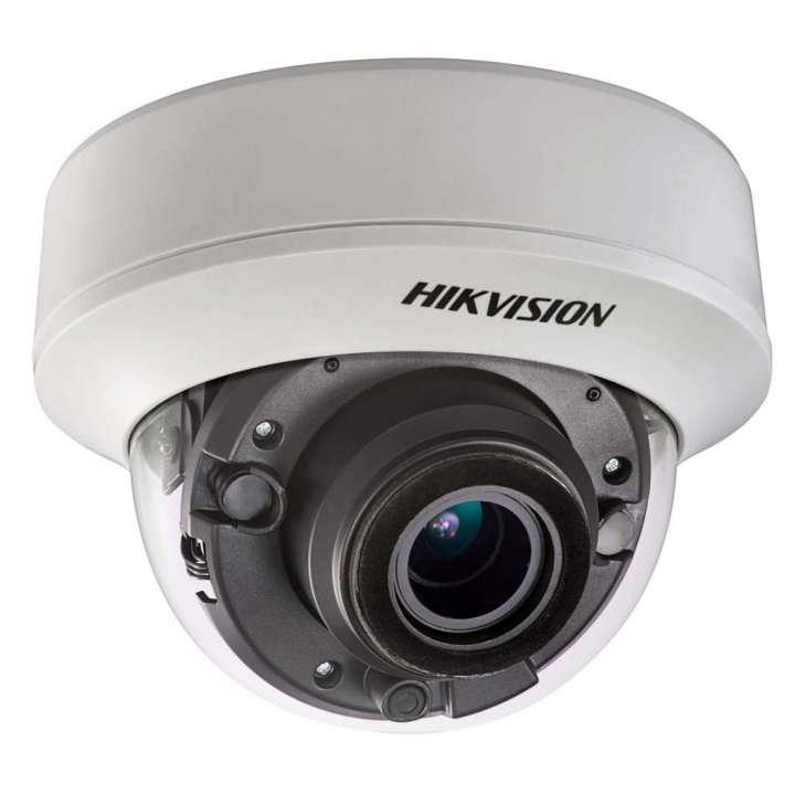 DS-2CE56D8T-AVPIT3Z HIKVISION Outdoor IR Dome, TurboHD 4.0, HD-TVI, 2MP, 2.8-12mm Motorized Zoom/Focus, Ultra Low Light, 40m EXIR 2.0, Day/Night, True WDR, Smart IR, UTC Menu, IP67, 24VAC/12VDC