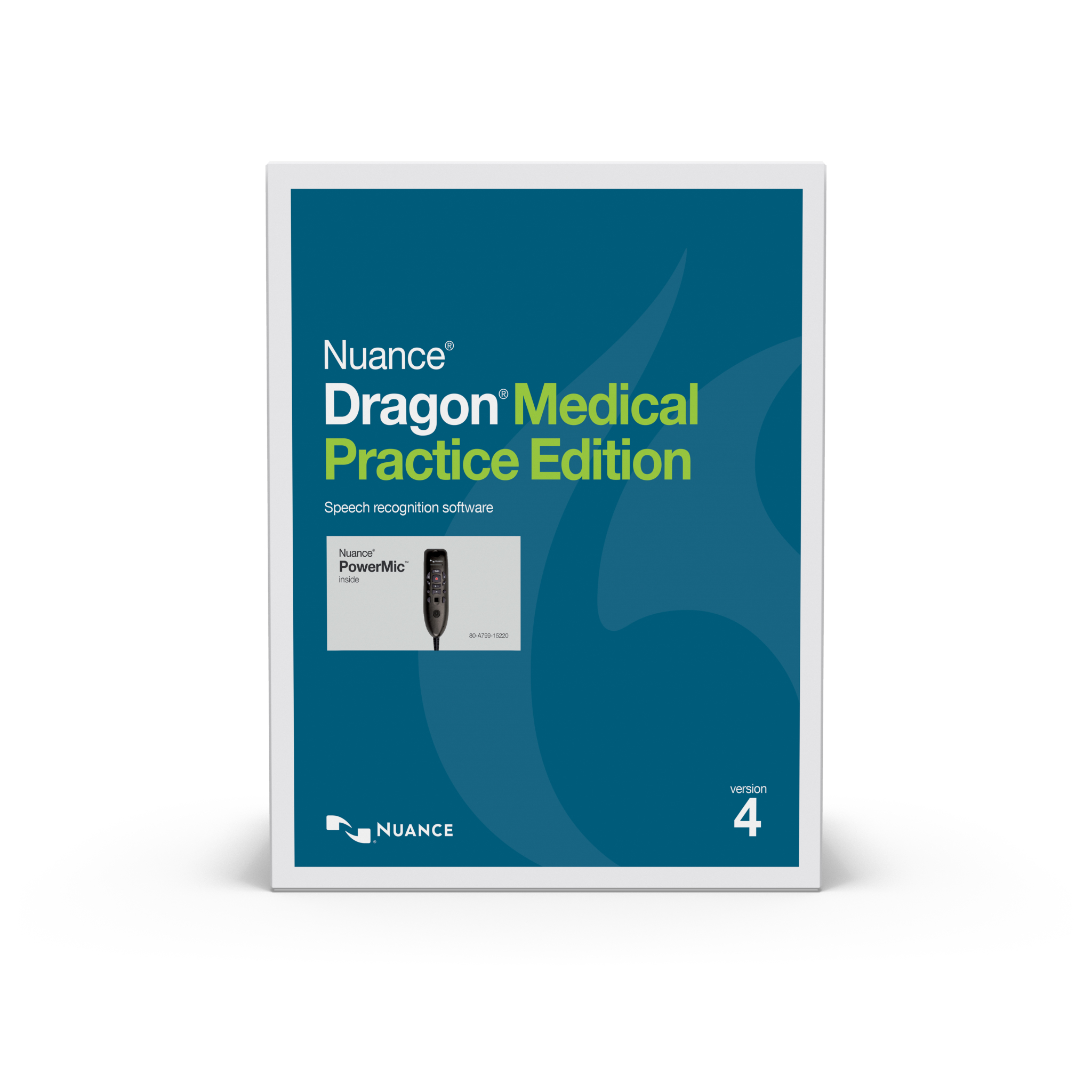 NUA-A709A-X97-4.0 DRAGON MEDICAL PRACTICE EDITION 4, WITH POWERMIC III