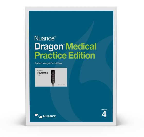 FAN4-NUA-A709A-X97-4.0 DRAGON MEDICAL PRACTICE EDITION 4, WITH POWERMIC III