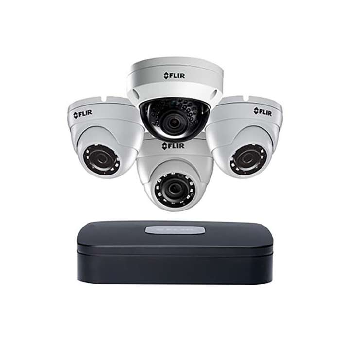N4A21K33 FLIR 4Ch 4K-enabled NVR 4POE 4K/5MP/4MP/3MP/2MP/1MP 30fps 2TB 1x4K vandal dome 3x3MP EB dome cameras Mobile PC/MAC FLIR Cloud ************************* SPECIAL ORDER ITEM NO RETURNS OR SUBJECT TO RESTOCK FEE *************************
