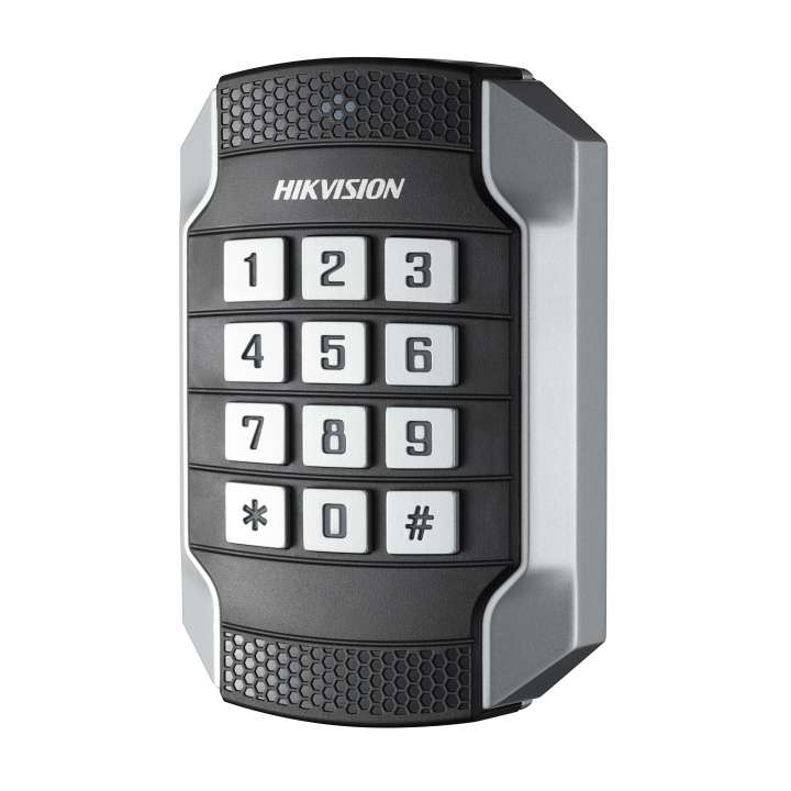 DS-K1104MK Hikvision Mifare card reader keypad RS485 and Wiegand(W26/W34) IP 65 IK10