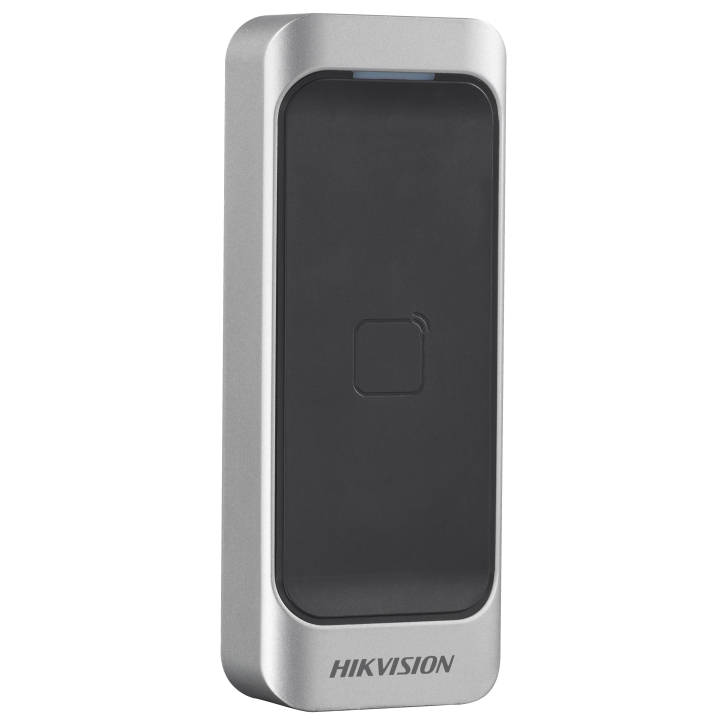 DS-K1107M HIKVISION Mifare card reader; RS485 and Wiegand(W26/W34); IP 64 ************************* SPECIAL ORDER ITEM NO RETURNS OR SUBJECT TO RESTOCK FEE *************************