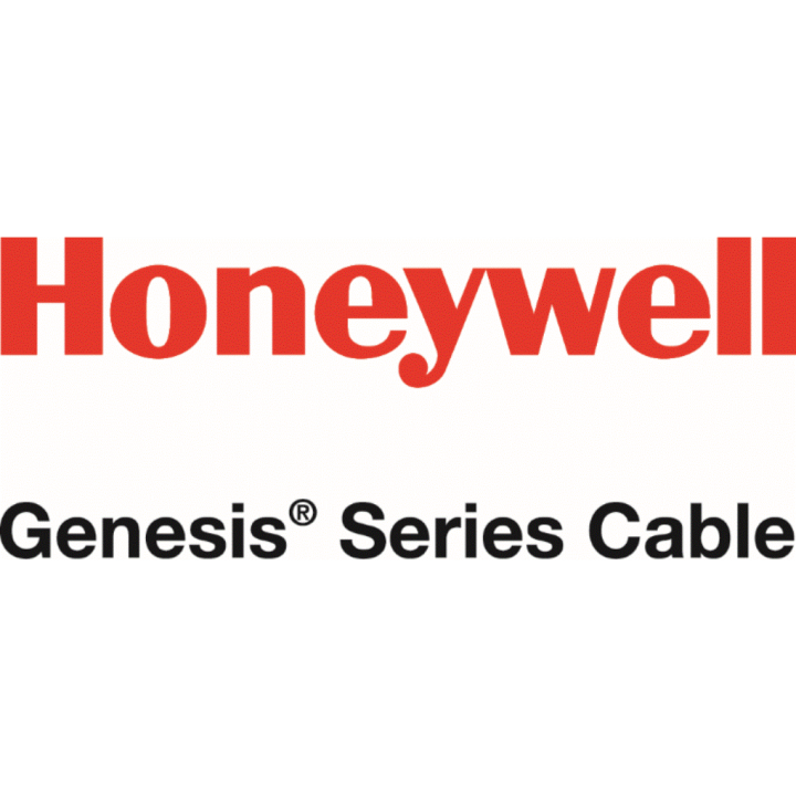 65081008 HONEYWELL GENESIS CABLE 20/1 RG59 + 18/2 ZIP COAX SIAMESE, GENERAL PURPOSE BARE COPPER (BC) CENTER CONDUCTOR COPPER CLAD ALUMINUM (CCA) BRAID SHIELD CM LISTED 1000' REEL BLACK