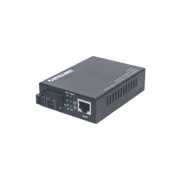 507349 INTELLINET SINLGE MODE FIBER MEDIA CONVERTER 10/100/1000 ETHERNET TO FIBER ************************* SPECIAL ORDER ITEM NO RETURNS OR SUBJECT TO RESTOCK FEE *************************
