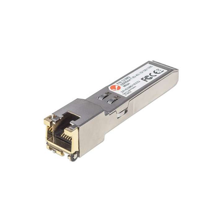 523882 INTELLINET Gigabit RJ45 Copper SFP Transceiver Module, 328 ft. ************************* SPECIAL ORDER ITEM NO RETURNS OR SUBJECT TO RESTOCK FEE *************************