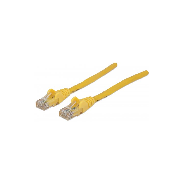 344920 INTELLINET 1 ft., Yellow, Cat6 with Snagless Boot
