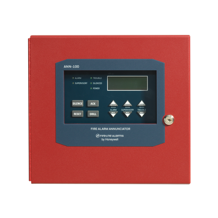 FLANN-100 FIRE-LITE 80 CHARACTER LCD REMOTE ANNUNCIATOR