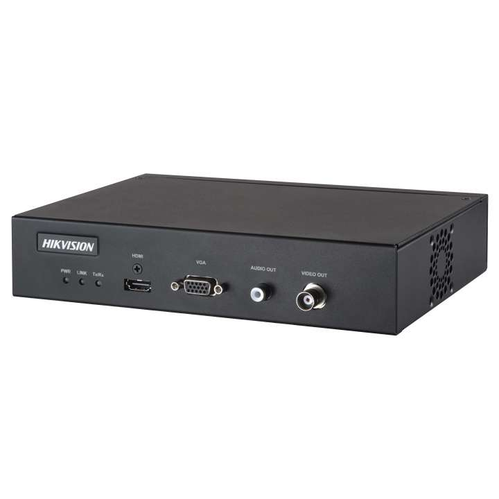 DS-6901UDI Hikvision Video Decoder 1-Channel H265+ up to 12MP 1 HDMI/ 1 VGA Out Audio Out RS-485 Alarm I/O -8/8 12VDC