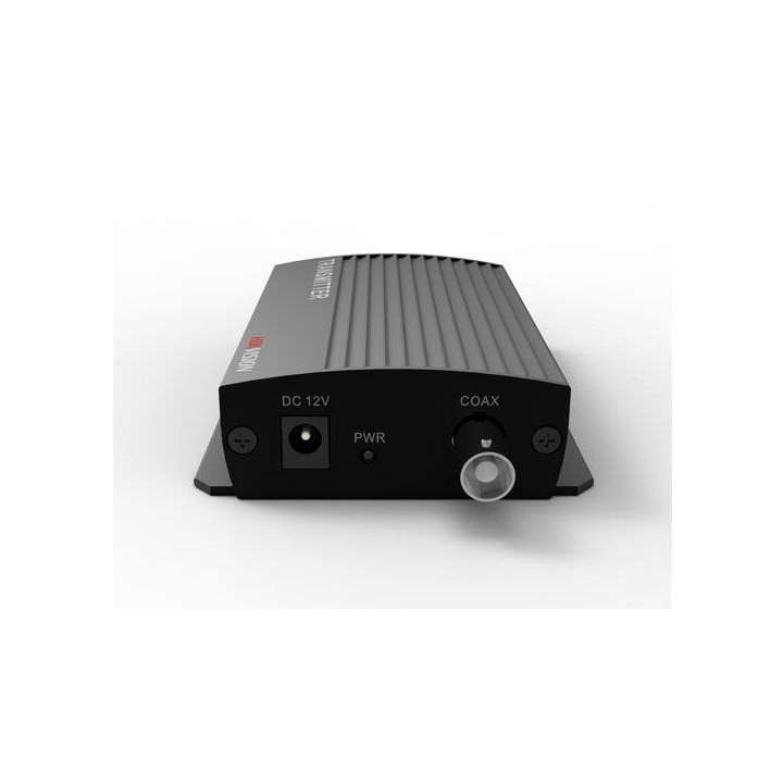 DS-1H05-8R Hikvision Receiver 8 Channel Ethernet over Coax (EoC) up to 500m Simultaneous IP and Analog transmission 36Mbps down 11Mbps up 12VDC