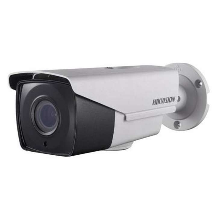 DS-2CE16F7T-AIT3Z HIKVISION Outdoor IR Bullet, TurboHD 3.0, HD-TVI, 3MP, 2.8-12mm Motorized Zoom/Focus, 40m EXIR 2.0, Day/Night, True WDR, Smart IR, UTC Menu, IP66, 12VDC/ 24VAC ************************* SPECIAL ORDER ITEM NO RETURNS OR SUBJECT TO RESTOCK FEE *************************
