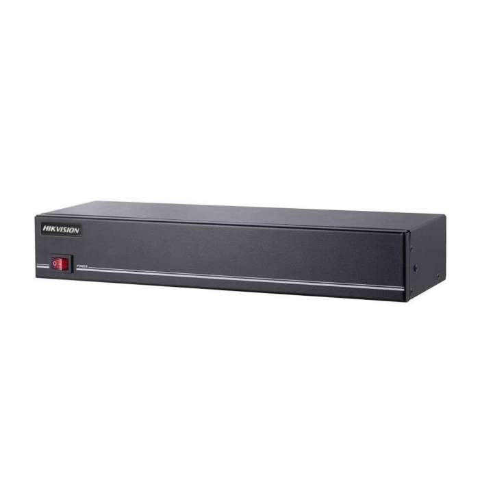 DS-1TLP16I HIKVISION 16-ch TurboHD Video Looping Panel, 16-channel video inputs/outputs/looped outputs, supports CVBS/HD-TVI up to 3MP, 12VDC power, rack mount ************************* SPECIAL ORDER ITEM NO RETURNS OR SUBJECT TO RESTOCK FEE *************************