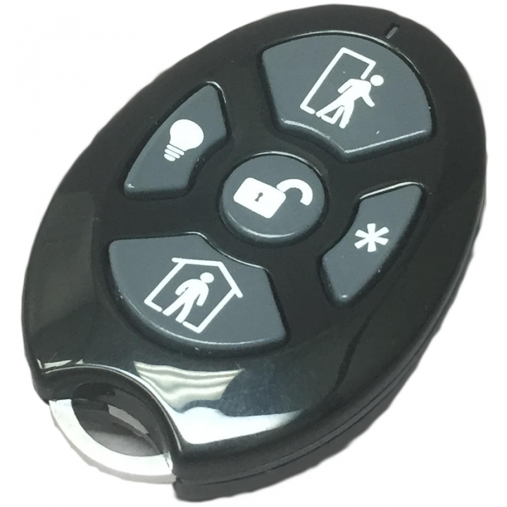 RE600-5 RESOLUTION PRODUCTS Cryptix Compatible Keyfob (5 Button)