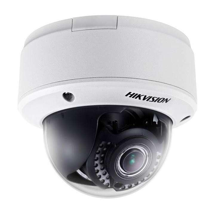DS-2CD4125FWD-IZ Hikvision Indoor Dome 2MP/1080p H264 2.8-12mm Motorized Zoom/Focus Day/Night LightFighter 140dB WDR IR Audio Alarm I/O PoE+/12VDC