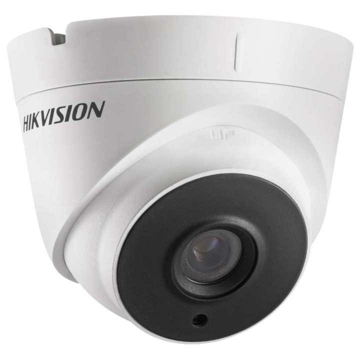 DS-2CC52D9T-IT3E6MM Hikvision Outdoor IR Turret TurboHD 4.0 HD-TVI 2MP 6mm Ultra Low Light 40m EXIR 2.0 Day/Night True WDR Smart IR PoC IP67 12 VDC