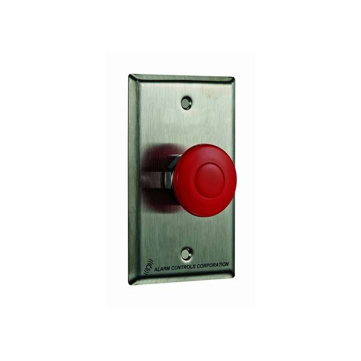 EB-1NS ALARM CONTROLS NO SCREEN ALARM CONTROL RED MUSHROOM NO WRITING ************************* SPECIAL ORDER ITEM NO RETURNS OR SUBJECT TO RESTOCK FEE *************************