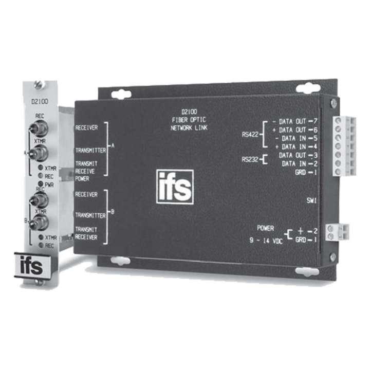 D2100 UTC RS232/RS422: Data Repeater MM 2 Fibers